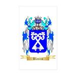 Blasius Sticker (Rectangle 50 pk)