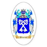 Blasius Sticker (Oval 50 pk)