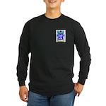 Blasio Long Sleeve Dark T-Shirt