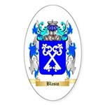 Blasio Sticker (Oval 10 pk)