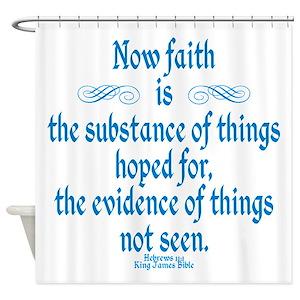 Bible Verse Shower Curtains