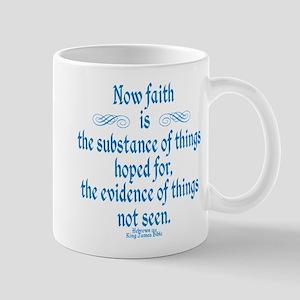Hebrews 11 1 Scripture Mug