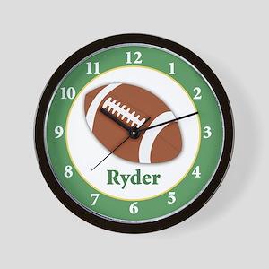 Football Clock Ryder Wall Clock