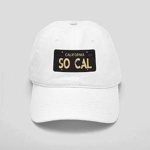 Old socal license plate design Baseball Cap