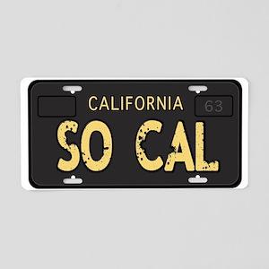 Old socal license plate design Aluminum License Pl