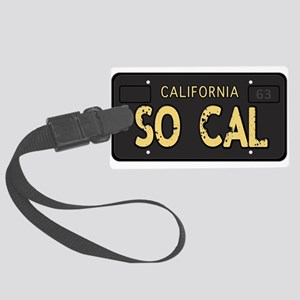 Old socal license plate design Luggage Tag