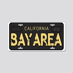 Bay Area calfornia old license Aluminum License Pl