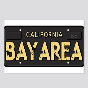 Bay Area calfornia old license Postcards (Package