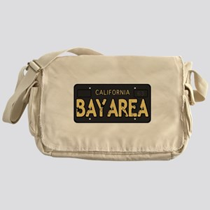 Bay Area calfornia old license Messenger Bag