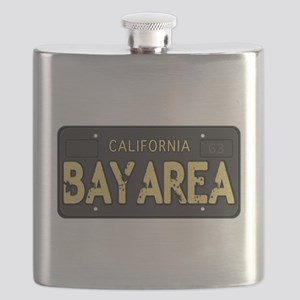 Bay Area calfornia old license Flask