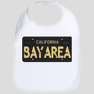 Bay Area calfornia old license Bib