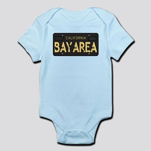 Bay Area calfornia old license Body Suit