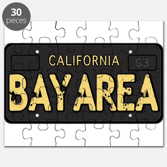 Bay Area calfornia old license Puzzle