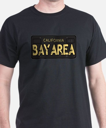 Bay Area calfornia old license T-Shirt