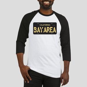 Bay Area calfornia old license Baseball Jersey