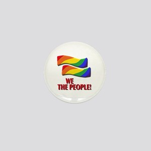 We the people, marriage equality Mini Button