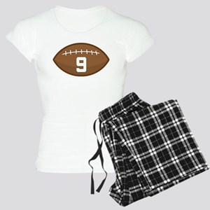 Football Player Number 9 Women's Light Pajamas