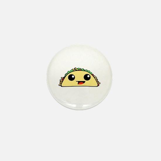 Cute Kawaii Taco Mini Button