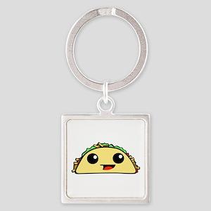 Cute Kawaii Taco Keychains