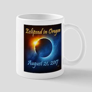 Eclipsed In Oregon 11 Oz Ceramic Mug Mugs