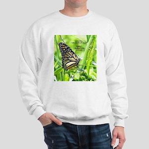 Thinking Butterfly Sweatshirt