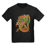 Golden Dragon Kids Dark T-Shirt