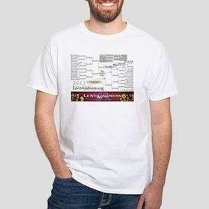 Lent Madness 2013 Bracket T-Shirt