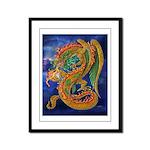 Golden Dragon Framed Panel Print