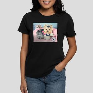 ByCatiaCho PamelaRose Women's Dark T-Shirt