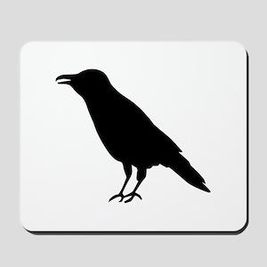 Crow Raven Mousepad