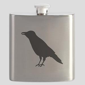 Crow Raven Flask