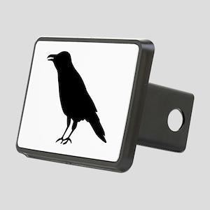 Crow Raven Rectangular Hitch Cover