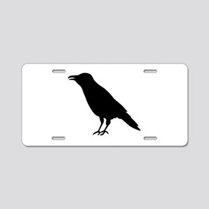 Crow Raven Aluminum License Plate