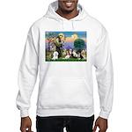 StFrancis-10 dogs Hooded Sweatshirt