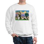 StFrancis-10 dogs Sweatshirt