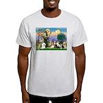 StFrancis-10 dogs Light T-Shirt