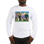 StFrancis-10 dogs Long Sleeve T-Shirt