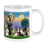 StFrancis-10 dogs Mug