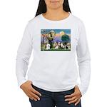 StFrancis-10 dogs Women's Long Sleeve T-Shirt