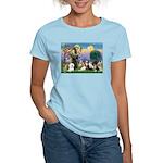 StFrancis-10 dogs Women's Light T-Shirt