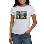 StFrancis-10 dogs Women's T-Shirt