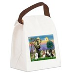 StFrancis-10 dogs Canvas Lunch Bag