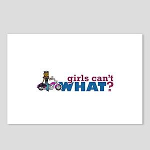 Biker Girl Postcards (Package of 8)