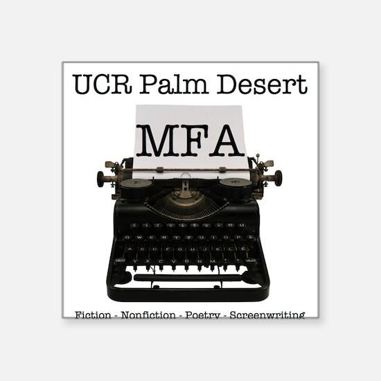 UCR MFA Sticker
