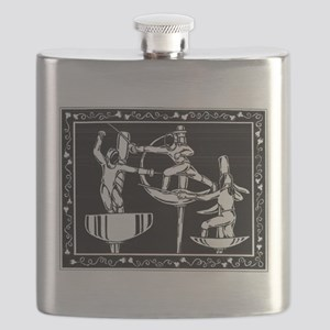 The Dance of Fencing Flask