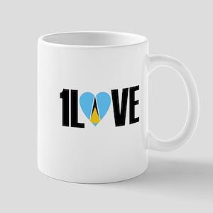 1LOVE ST.LUCIA Mug