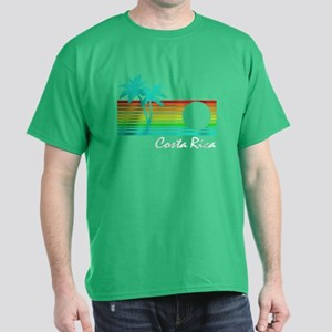 Costa Rica Vintage Distressed Design T-Shirt