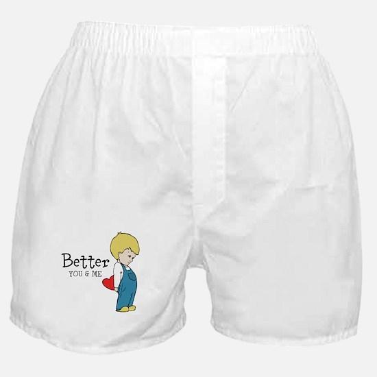 Couple Shirt Boxer Shorts