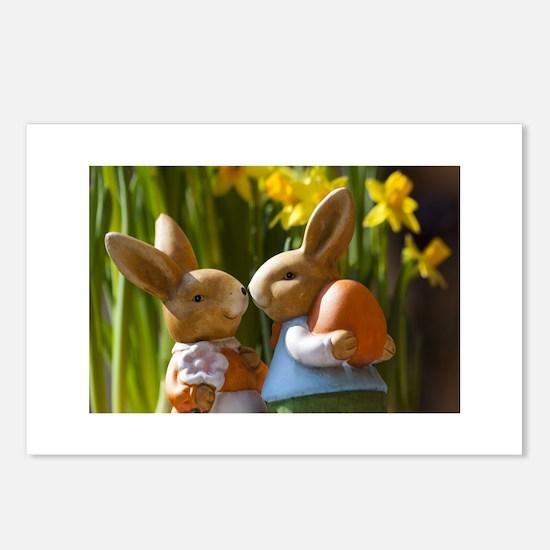 Easter Bunnies Postcards (Package of 8)