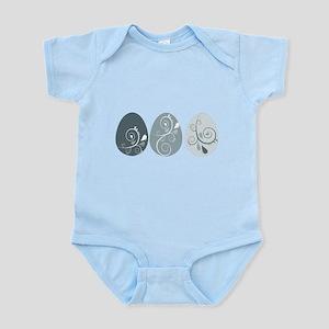 Easter Eggs Infant Bodysuit